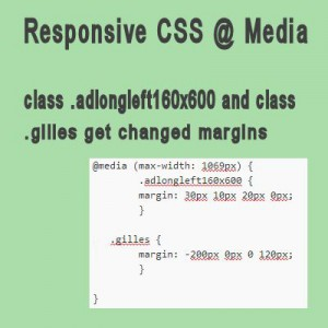 css responsive CSS in a WordPress child theme
