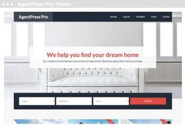Meij webdesign Delft agentpress pro them