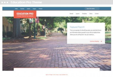 Meij webdesign Delft Education Pro Theme