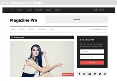 Meij website ontwerpen in Delft magazine pro theme