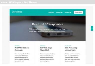 Meij website ontwerpen in Delft white space pro theme