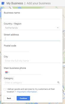 Google vragen lijstje