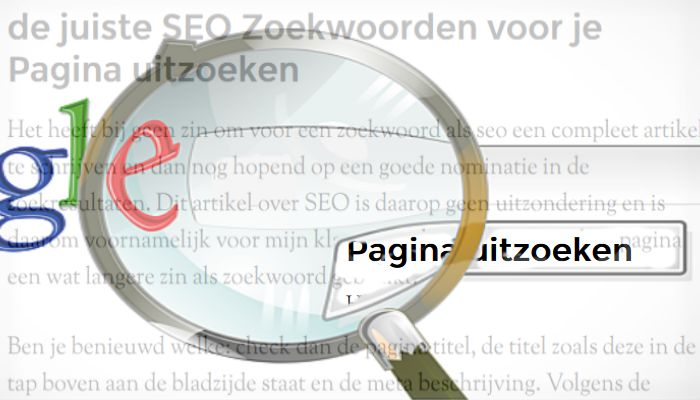 On Page Search Engine Optimization search for correct keywords