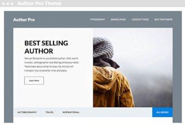 web design Author Pro Theme