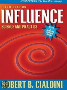 marketing boek: Influence by CIaldini