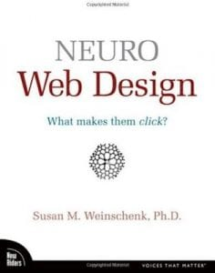 neuro web design, what makes them click