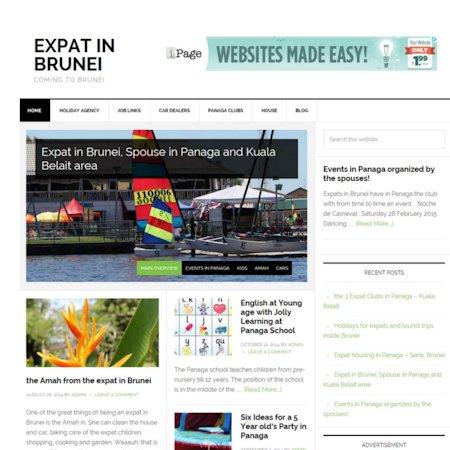 portfolio meij webdesign exapt delft and the Hague expat in Brunei