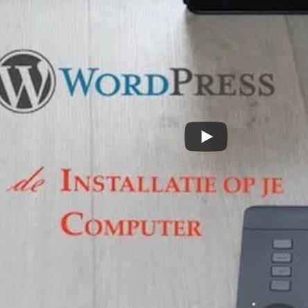 WordPress cusus: WordPress op computer installeren