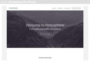 WordPress thema voor Genesis: atmosphere pro theme