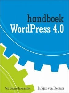 WordPress boek: handboek WordPress 4