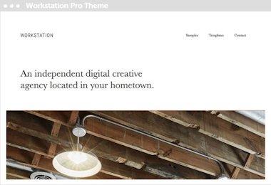 WordrPress Delft thema: workstation pro thema