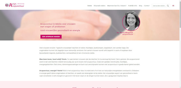 website auryn acupunctuur aangepast door meij webdesign