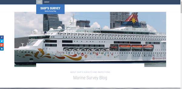 website maritime-mea gemaakt door meij webdesign