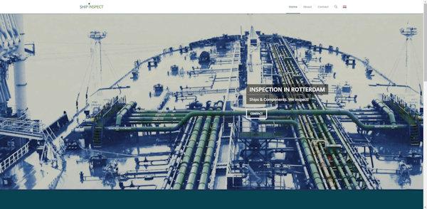 website shipinspect gemaakt door meij webdesign