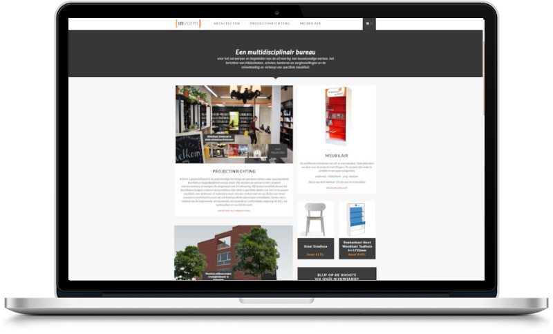 handgemaakte WordPress website