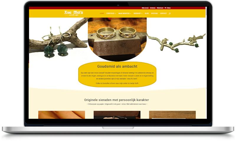 het uiterlijk van een website bepalen
