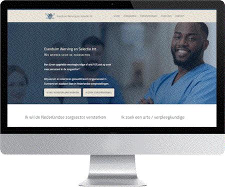 portfolio meij webdesign: everduim.nl