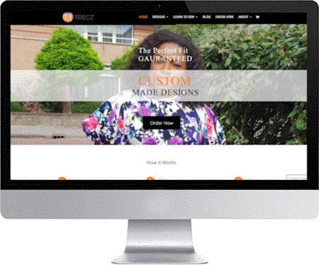 website tregzonline gemaakt door meijwebdesign