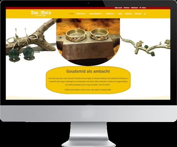 portfolio meij webdesign: xuemei.nl