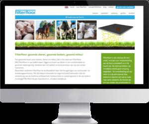gemaakte website filterfloor.nl en filterfloor.com