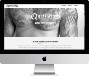 website qualitatts gemaakt door meij webdesign