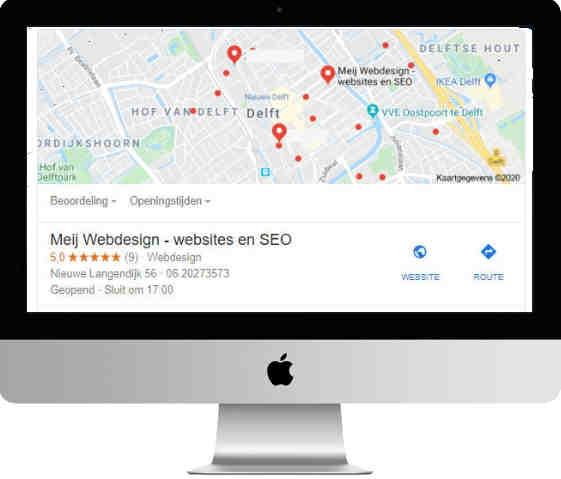 Lokale SEO voor Google mijnbedrijf