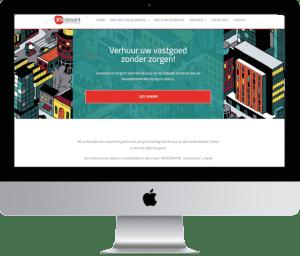 portfolio Meijwebdesign: incassant.nl op mac