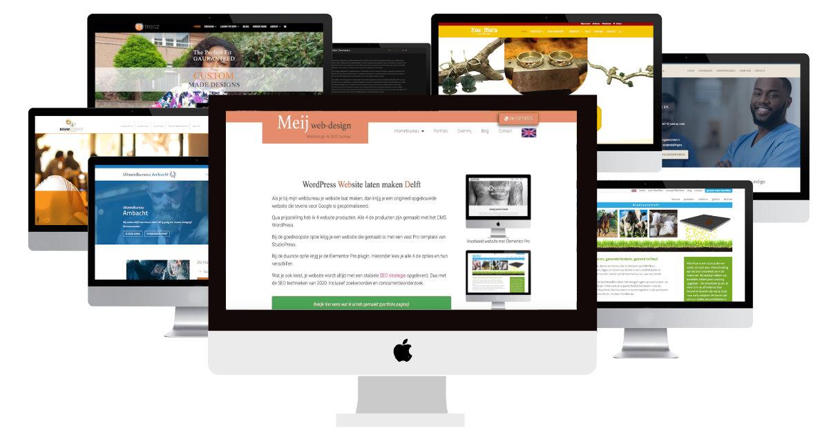 portfolio meij webdesign