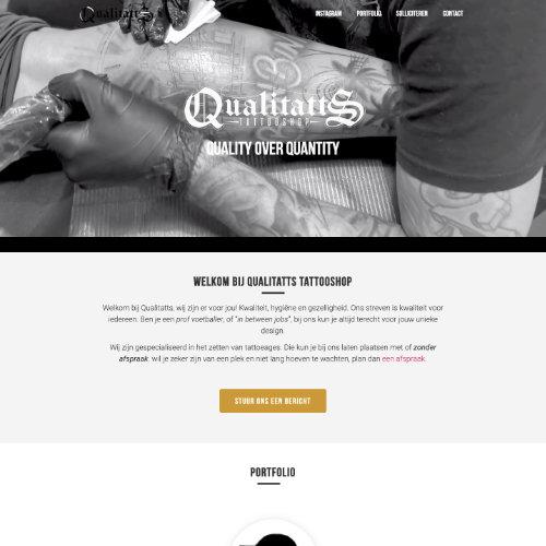 Meij Webdesign portfolio Qualitatts