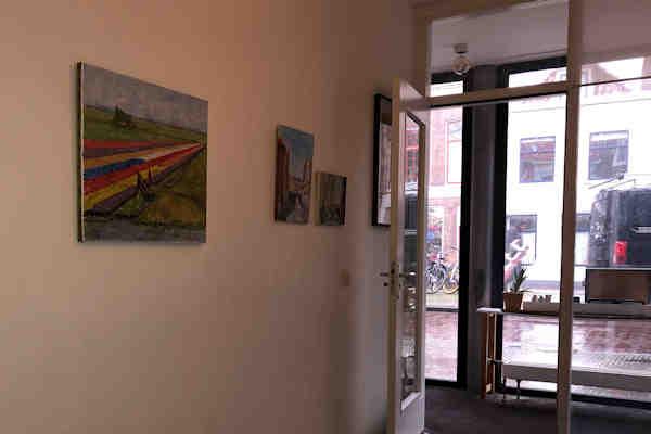 schilderij op kantor