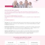 website met planning systeem en webshop