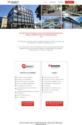zakelijke website portfolio incavast