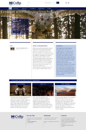 zakelijke website portfolio wordpress webdesign cvbp-nl