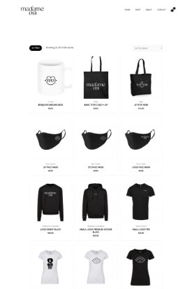 webshop voor kleding en lifestyle