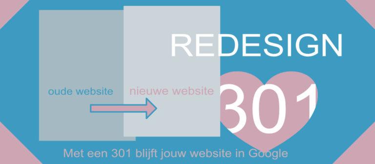 mijn positie in Google behouden met nieuw website ontwerp