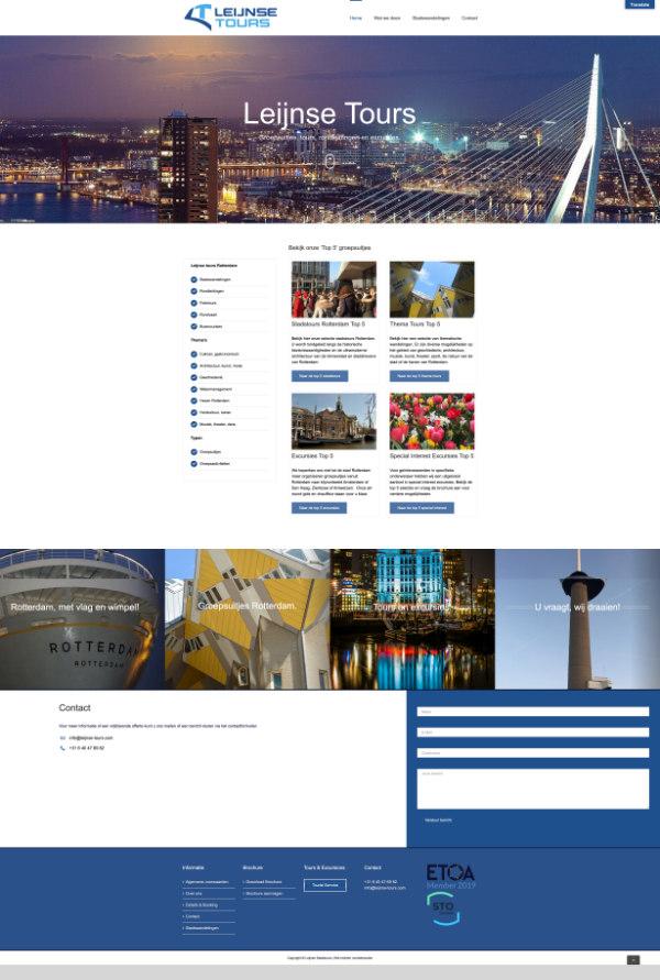 portfolio webdesigner delft-reiorganisator