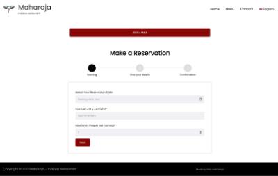 tafel reserveren in wordpress