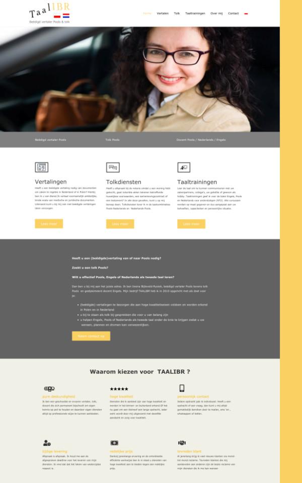 portfolio meijwebdesign vertaalster taalibr