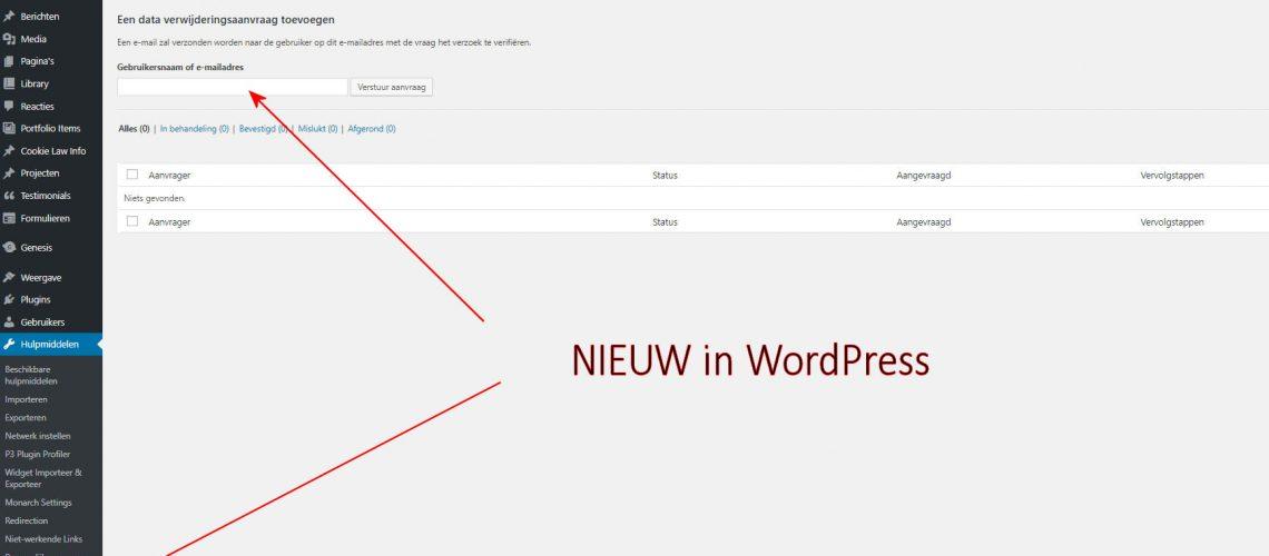 AVG toepassing in WordPress