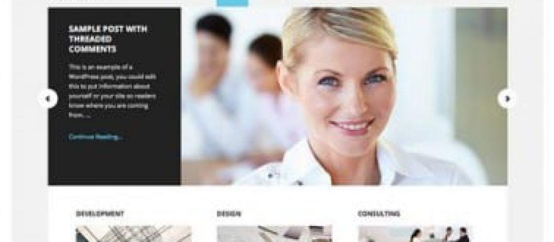 website ontwerp Executive Pro Thema