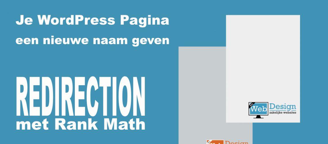 redirection wordpress plugin met rankmath