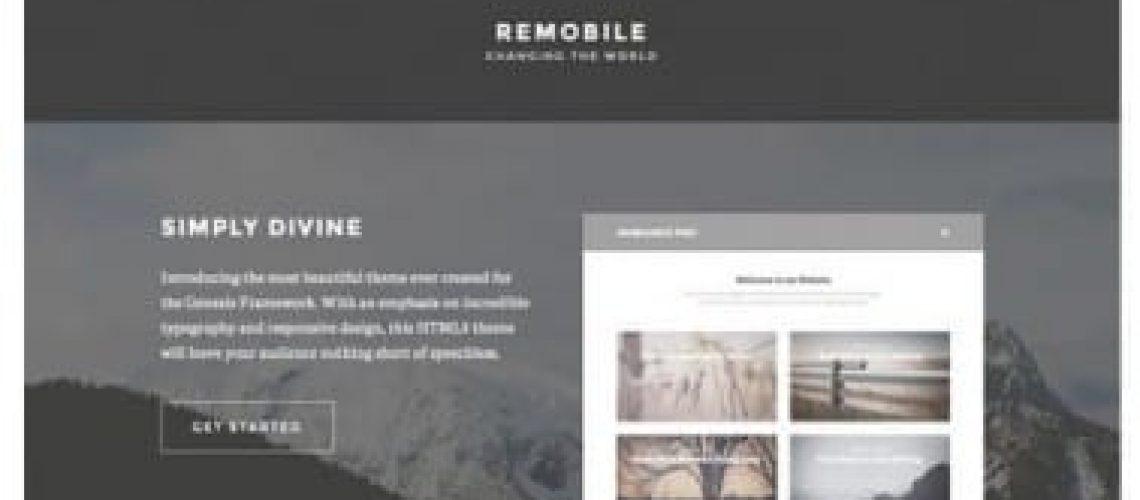 webdesign seoux portfolio Remobile Pro Theme
