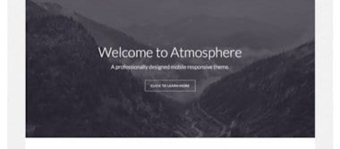 WordPress kind thema van StudioPress: Atmosphere-Pro