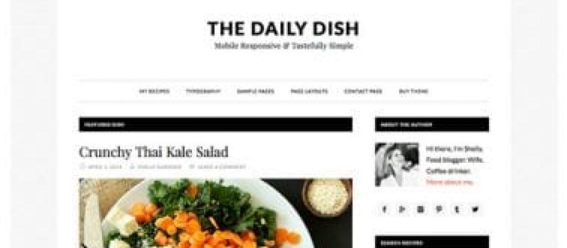 daily dish pro thema