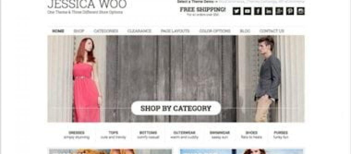 WordPress kind winkel thema van StudioPress: Jesisica Woo
