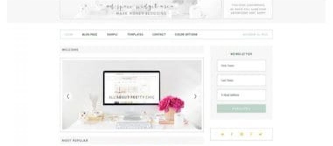WordPress kind winkel thema van StudioPress: Pretty Chic