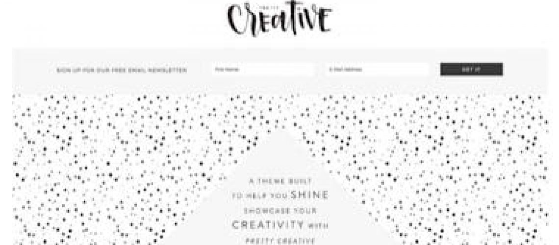wordpress kind thema van studiopress: pretty-creative