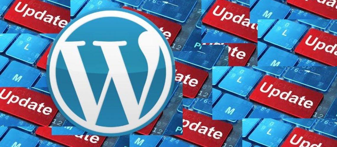 wordpress handmatig bijwerken